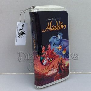Disney Parks Aladdin VHS Wallet/Clutch Purse